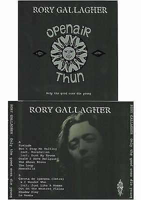 RORY GALLAGHER Only The Good Ones Die Young 2CD Live in Thun  13-08-94 LIKE NEW