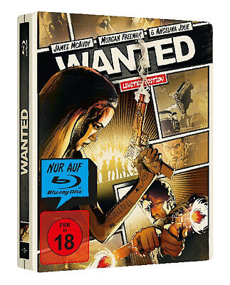 Wanted - Limited Reel Heroes Steelbook Edition (Blu-ray) Der Action-Blockbuster