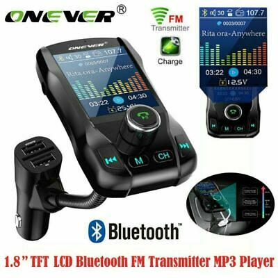 Bluetooth In Car MP3 FM Transmitter Wireless USB LCD Charger Handsfree with EDR