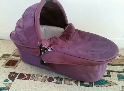 iCandy Cherry Mulberry Carrycot good condition