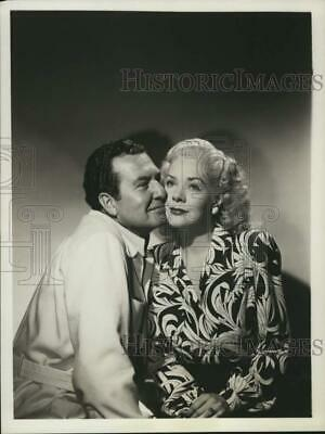 1950 Press Photo Phil Harris & Alice Faye co-stars Phil Harris-Alice Faye Show