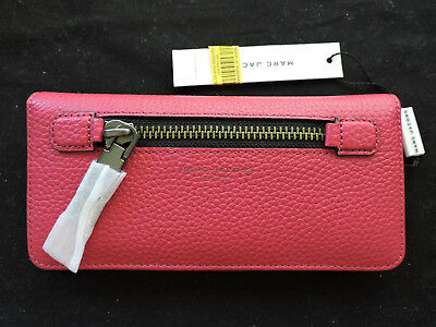 36bde72954 NWT MARC BY Marc Jacobs M0008455 Gotham Zip Phone Wallet/Wristlet in ...