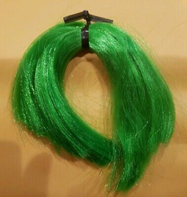 Nylon Doll Hair Envy Green for Rerooting Barbie Monster High Disney