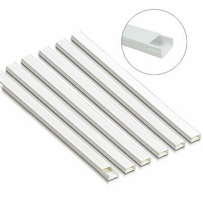 Cord Concealer Cable Management Channel 94 inch White Cable Covers,Hide Wires