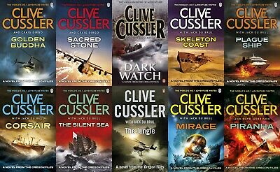Clive Cussler - Complete Oregon Files Collection Set of 13 Audiobooks ( MP3 )