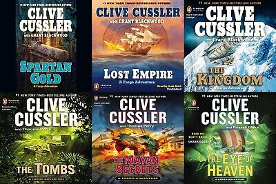 Clive Cussler - Complete Fargo Collection Set of 10 Audiobooks ( MP3 )
