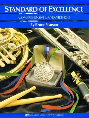 Standard Of Excellence: Comprehensive Band Metho... by Pearson, Bruce 084975951X