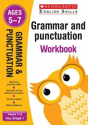 Grammar and Punctuation Years 1-2 Workbook (Sc... by Fletcher, Lesley 1407140701
