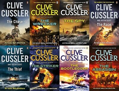 Clive Cussler - Complete Isaac Bell Collection set of 10 Audiobooks ( MP3 )