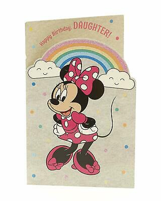 Official MICKEY MINNIE Mouse Disney Birthday Greetings Cards Ages Relations