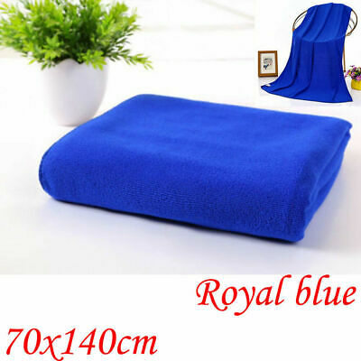 2X Extra Large Microfibre Lightweight Beach Towel Sheet Travel Bath Swim Sports