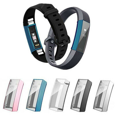 Slim TPU Full Screen Protector Fitbit Alta Smart Watch Protective Case Cover