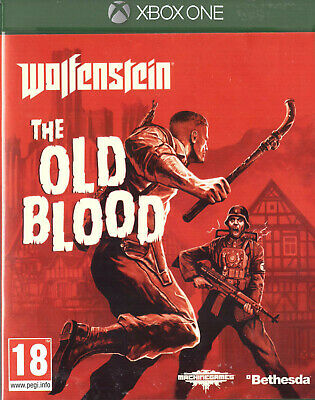 Wolfenstein: The Old Blood Microsoft Xbox One 18+ Shooter FPS Game