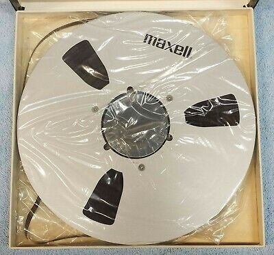 """Maxell 10.5 x 1/4"""" Reel with Tape"""