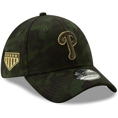 aa39d935 Philadelphia Phillies New Era 2019 MLB Armed Forces Day 39THIRTY Flex Hat -  Camo