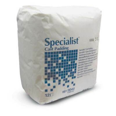 """BSN Specialist Cast Padding 3"""" X 4"""", Cotton and Rayon, 12/Pack, 9043"""