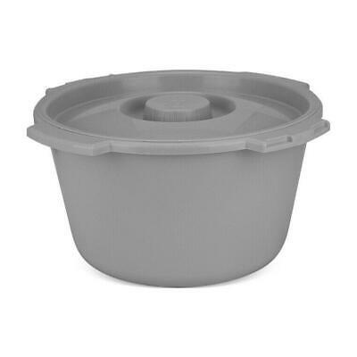 Lumex Commode Pail with Cover, 7 quart,  6/Box