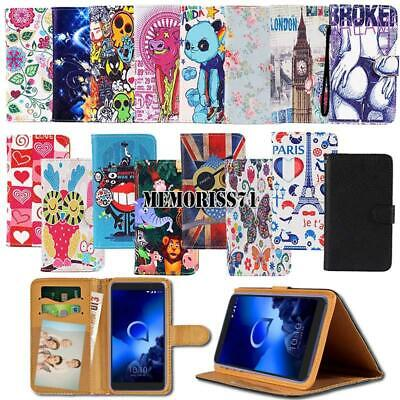 For Alcatel 1/1C /1S /1X /3/Onyx  2019 Folio Leather Stand Wallet Cover Case
