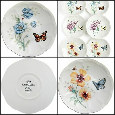 Butterfly Meadow Party Plates Made of chip resistant Lenox white porcelain