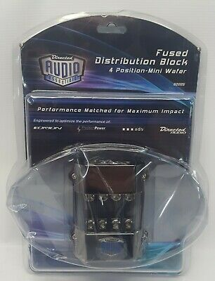 62255 DIRECTED Audio Fused Distribution Block 4 Position - Mini Wafer NEW#