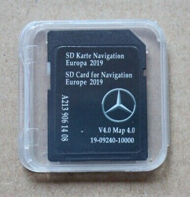 NEU!! MERCEDES Benz E W213 C W205 AUDIO 20 SD MAP 2019 4.0