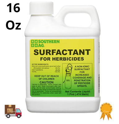 Southern Ag Surfactant Herbicides Non-Ionic 16oz 1Pint garden increase coverage