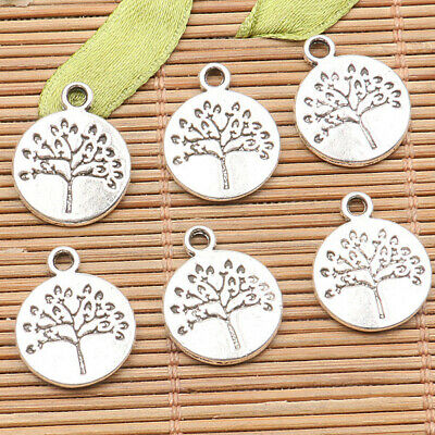 12pcs tibetan silver plated 2sided butterfly spacer beads EF1736