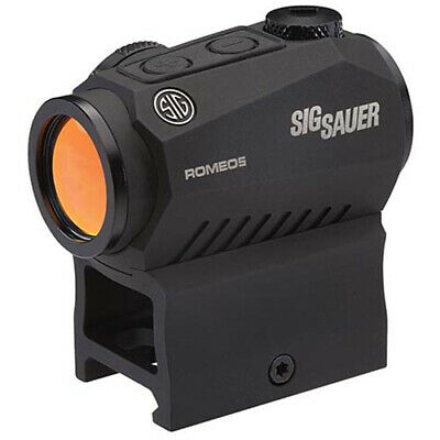Sig Sauer 52101 Romeo5 2MOA Compact Red Dot Sight 1x20mm with Picatinny Mount