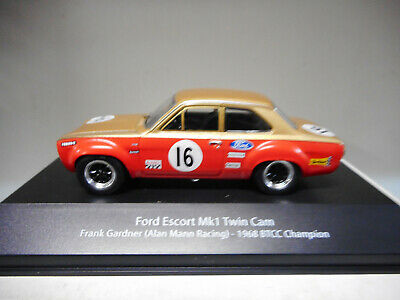 Ford Escort Mk1 F.gardner 1968 Btcc Champion British Touring Atlas #01 1:43