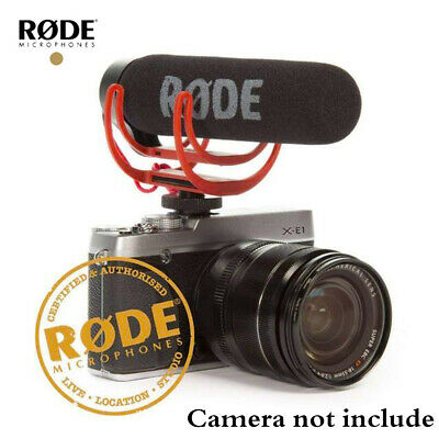 Rode VideoMic Go Microphone For DSLR Cameras With Rycote Lyre Shock Mount Z7D4