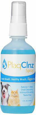 PlaqClnz Pre-Treatment Spray, 4 Ounce for Dogs and Cats