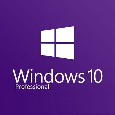 Microsoft Windows 10 Pro Professional 32 & 64 Bit Vollversion Win 10 Product Key
