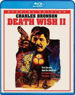 DEATH WISH II New Sealed Blu-ray Special Edition Theatrical + Unrated Cuts