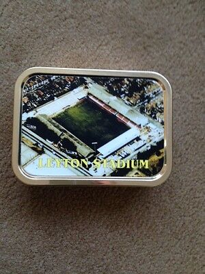 Leyton Orient Football Club Cigarette Tobacco Keepsake 2Oz Tin
