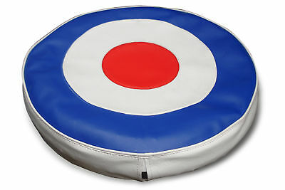 "Lambretta Spare Wheel Cover  "" Target Design""   -  New"