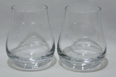 SCAPA whisky The Orcadian 2 verres dégustation rond NEUF