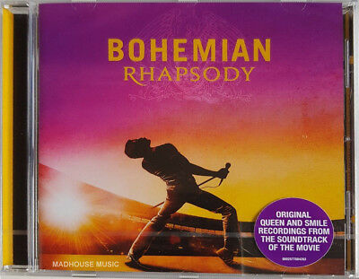 QUEEN CD Bohemian Rhapsody 2018 Original Soundtrack 22 Tracks Movie OST w/ Stkr