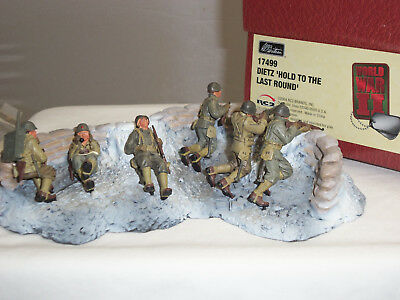 Britains 17499 Us Army Dietz Hold To The Last Round Metal Toy Soldier Figure Set
