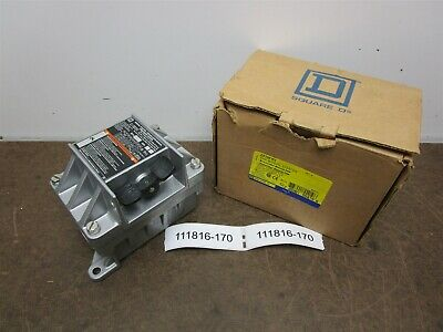 10 Square D 2510FR1 Manual Starter Ser. B Nema 3R 7 & 9 Rainproof New In Box