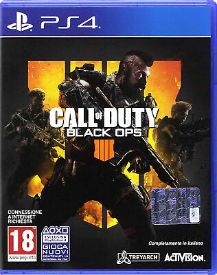 CALL OF DUTY BLACK OPS 4,PS4,Disco Bluray in INGLESE,NO Italiano,Nuovo,SIGILLATO