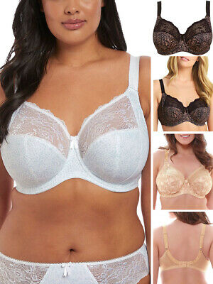 59a1831327dd8 Elomi Morgan Bra Full Cup Banded Stretchy Side Support 4110 Underwired  Lingerie