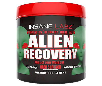 Insane Labz - Alien Recovery - Bcaa - Best - Aminos - X - Lean - Build