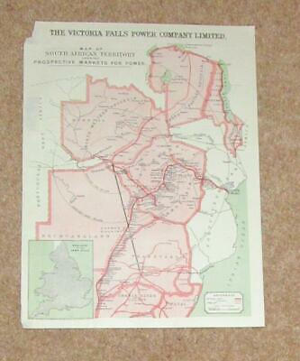 South Africa territory map victoria falls power company markets