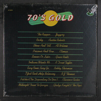 VARIOUS: 70's Gold LP Sealed Rock & Pop