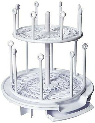 The First Years Spin Stack Drying Rack baby bottles sippy cups