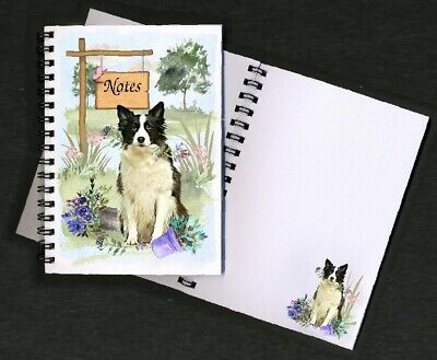 Border Collie Dog Notebook/Notepad + small image on every page - By Starprint