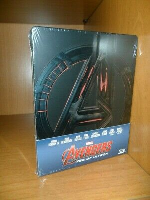 Blu-ray Avengers Age of Ultron steelbook ed. italiana