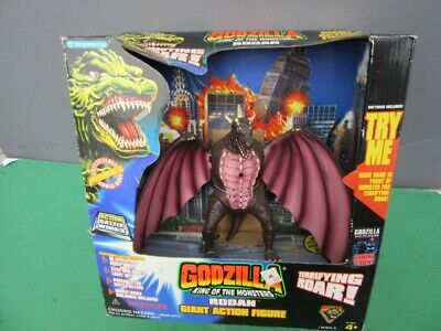 "1994 Godzilla: King Of Monsters RODAN 7"" GIANT Vinyl Figure MIB w/ROAR, Lights"