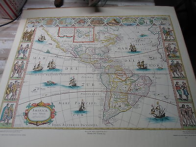 Copy of Map of New World 1635