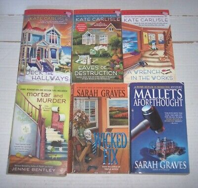 LOT OF 8 Cozy Mysteries by Great Authors – Davis-Ferris-Haywood